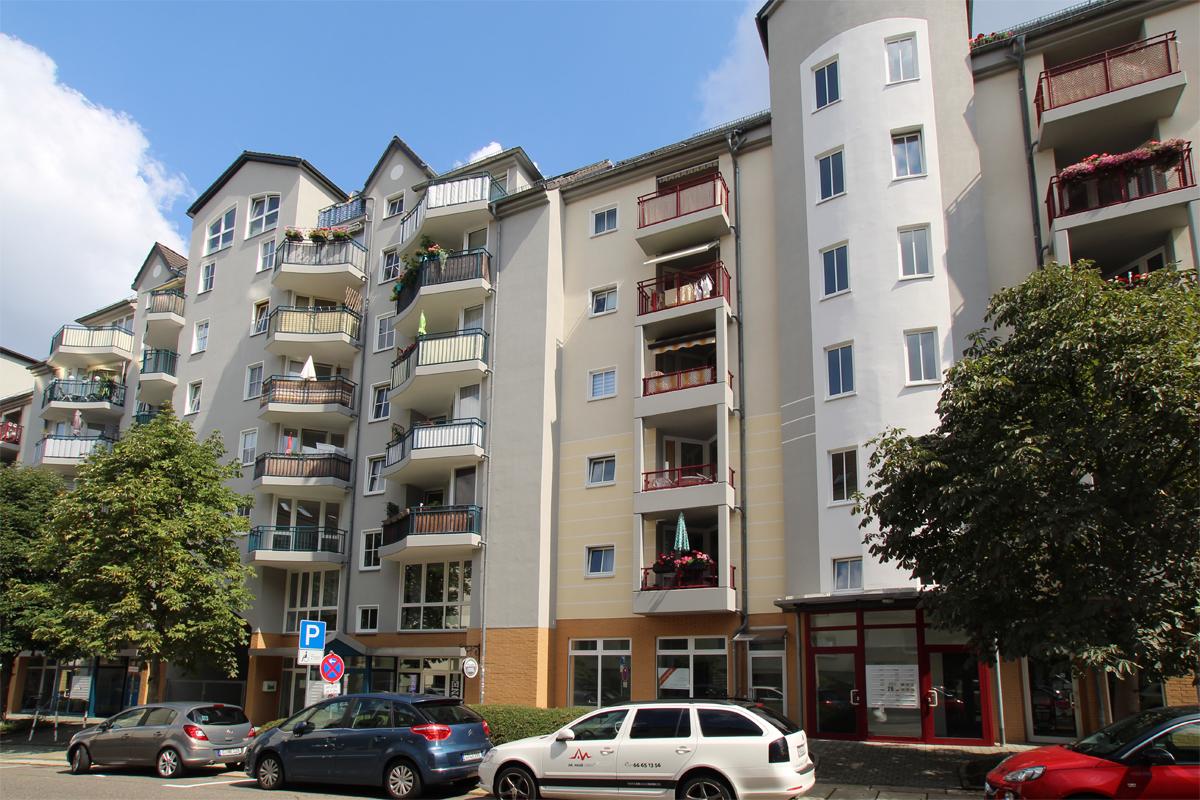 Verkauft! Vermietete 3-Raum-ETW mit Balkon und TG-Stellplatz - ID 140 Image