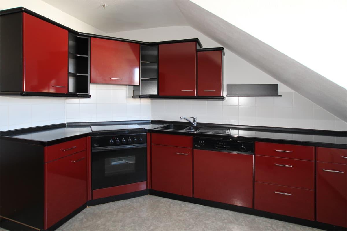 Klasse Einbauküche... Schicke DG-Whng. mit Tageslichtbad! - ID 200 Image